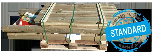 Pallet Standard Holz