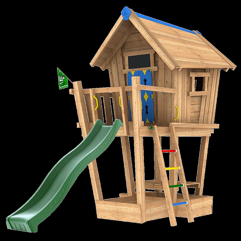 Häufig Spielgeräte aus Massivholz für Ihren Garten - Jungle Gym PM84