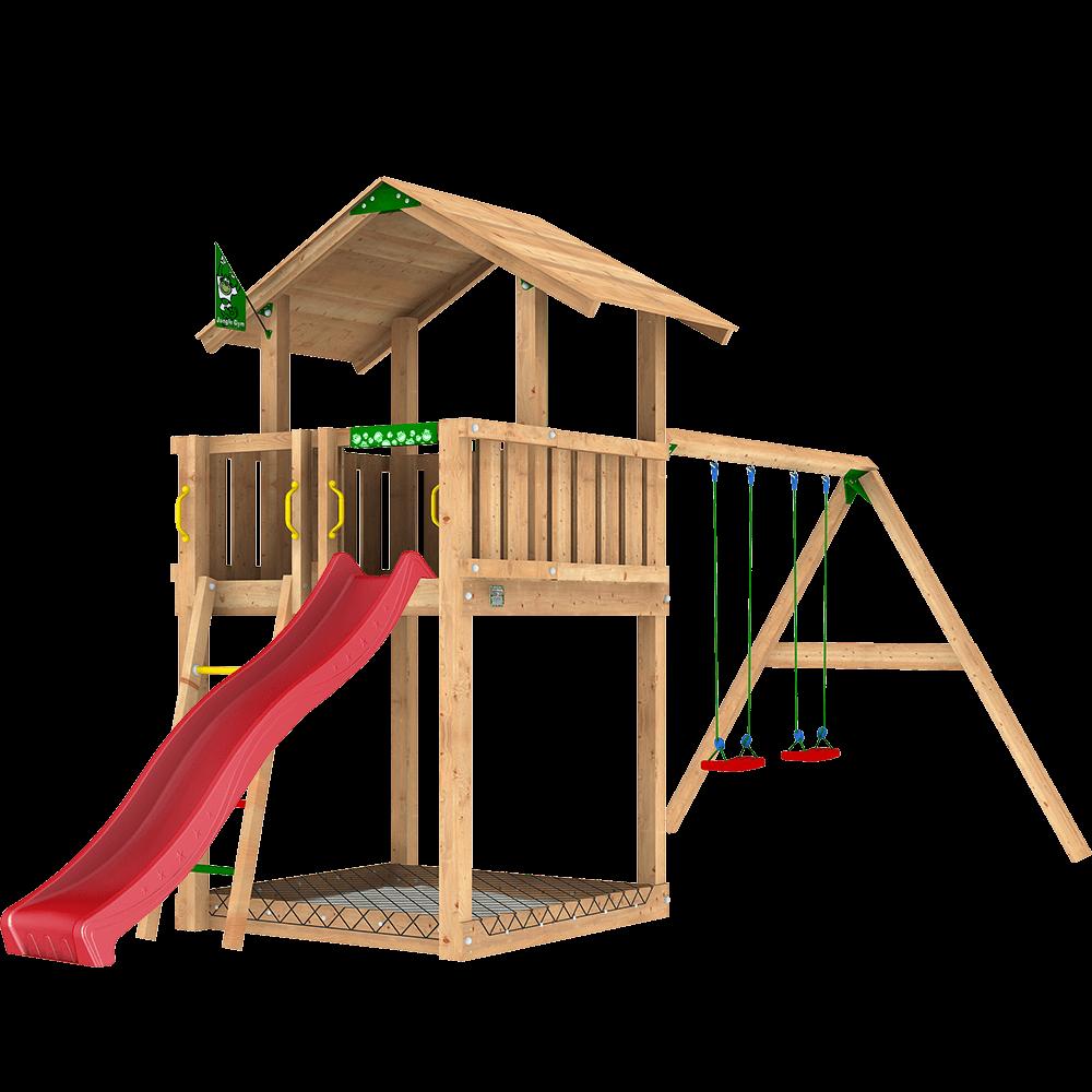 Häufig Spielgeräte aus Massivholz für Ihren Garten - Jungle Gym CQ66